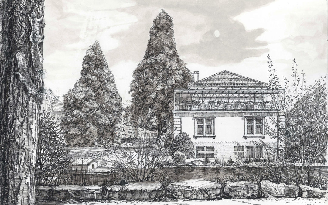 Blick aufs Ortsmuseum in Frenkendorf