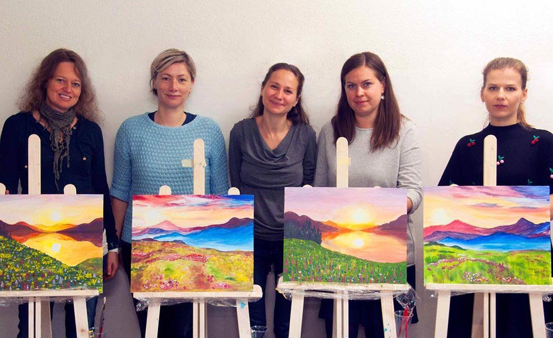 Workshop «Berge, Sonnenauf- und -untergänge»